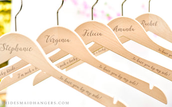 bridesmaid proposal hanger
