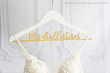 White Bride Hanger