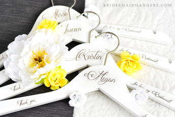 bridal name hanger