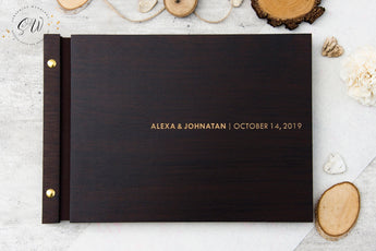 Wedding Guest Book, Minimalist I