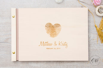 Wedding Guest Book, Love Print