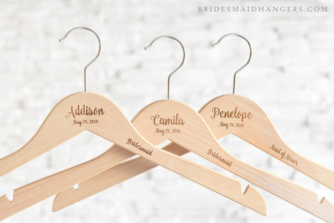 Natural Hanger, Name & Date + Title