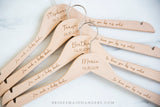 Natural Hanger, Name & I'm such a lucky bride to have you by my side!