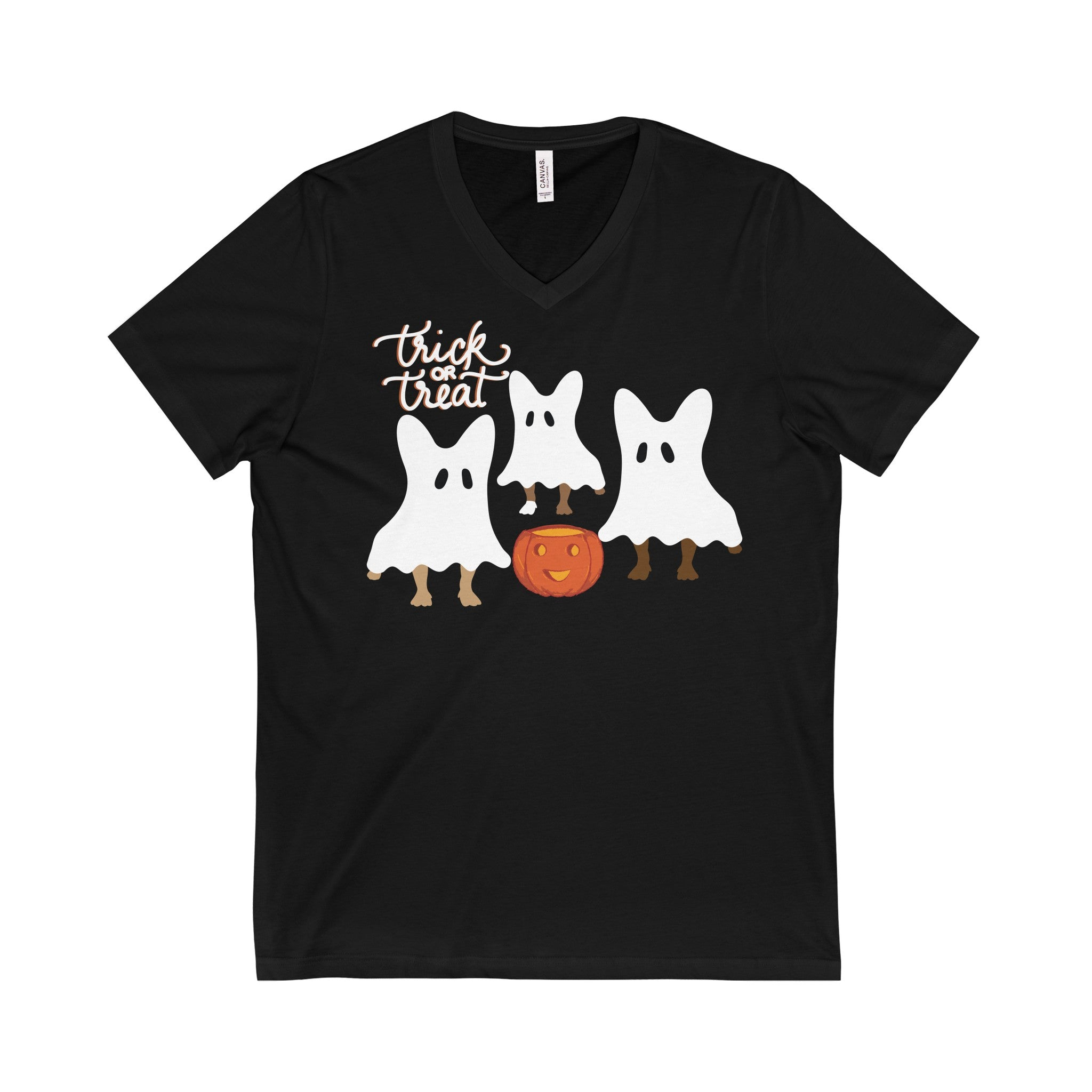 Trick or Treat Tee - Allthingsfrenchie LLC