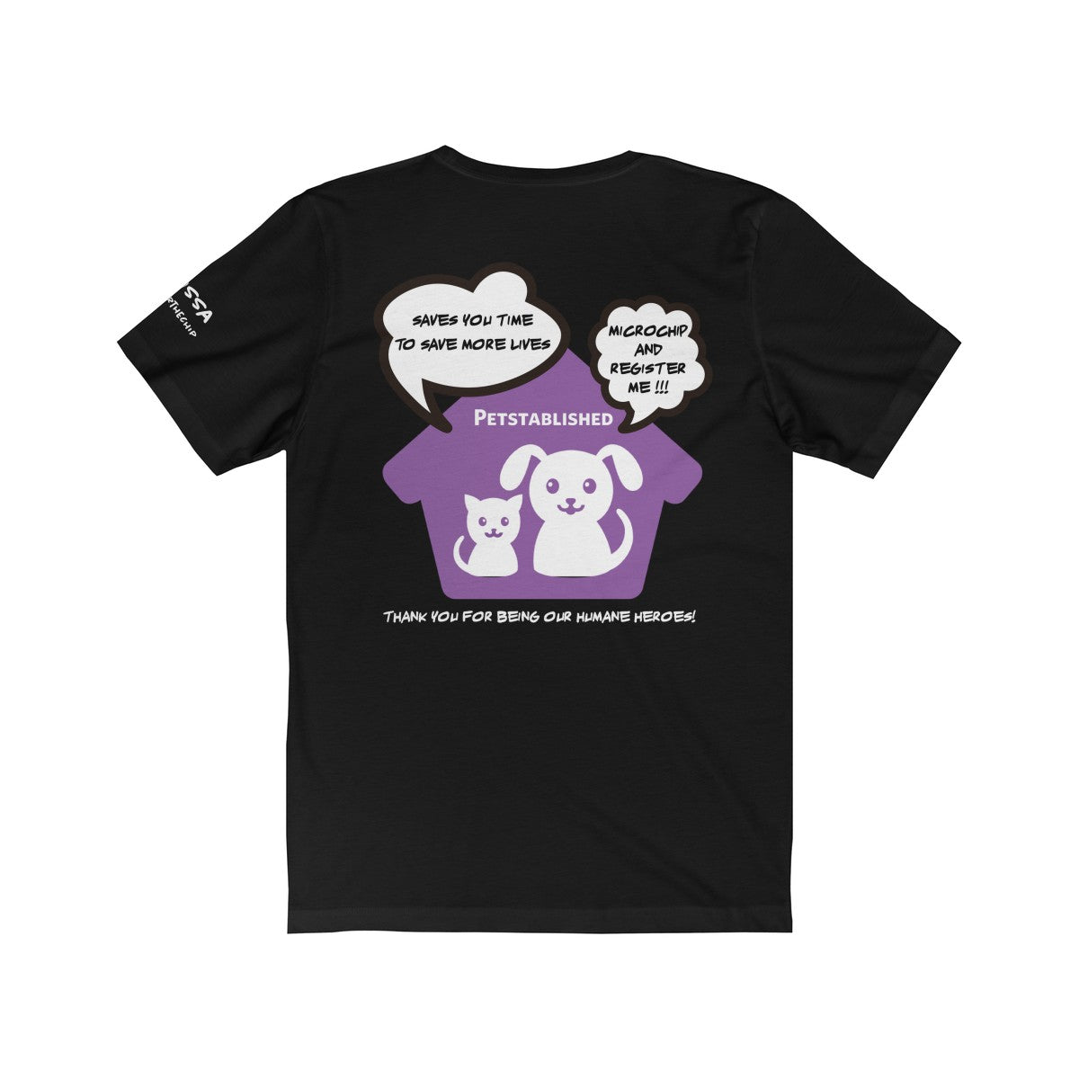 Expo Tee Paws Up - Melissa - Allthingsfrenchie LLC