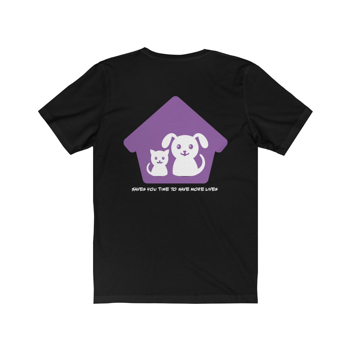 Expo Tee Paws Up - Marc (XL) - Allthingsfrenchie LLC