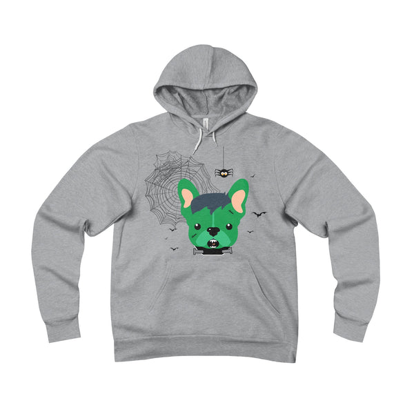 Franken-Frenchie Fleece Hoodie - Allthingsfrenchie LLC