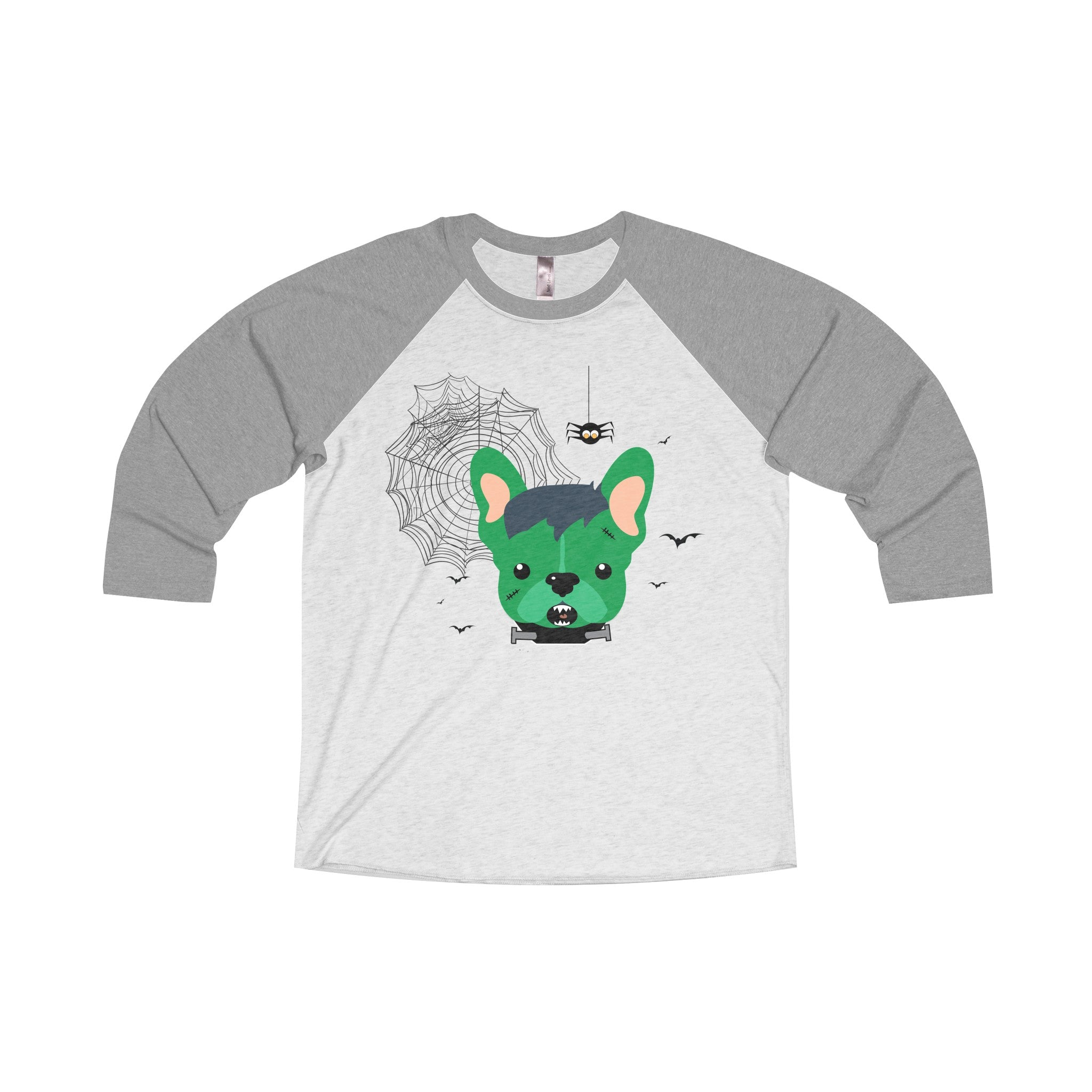 Franken-Frenchie Raglan Tee - Allthingsfrenchie LLC