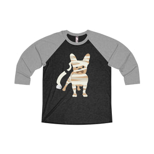 (Don't Tell) Mummy Frenchie Raglan Tee - Allthingsfrenchie LLC