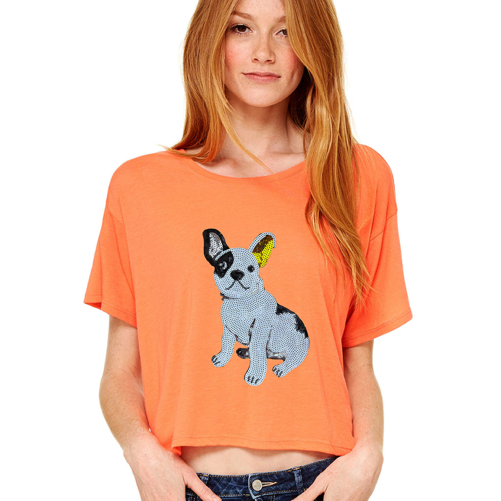 Darling Frenchie Tee - Allthingsfrenchie LLC