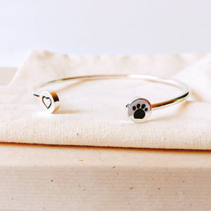 Gals Best Friend Bangle - Allthingsfrenchie LLC