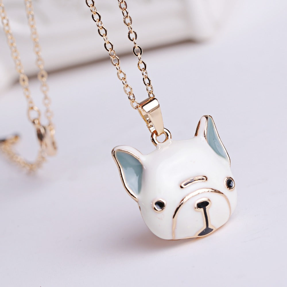 Adore-A-Bull Necklace - Allthingsfrenchie LLC