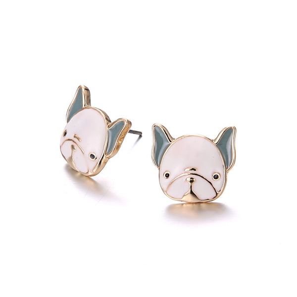 Adore-A-Bull Earrings - Allthingsfrenchie LLC