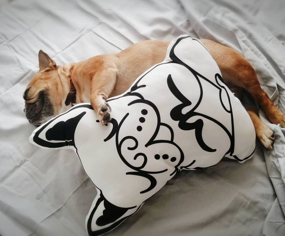 Let's Namastay (In Bed) Pillow - Allthingsfrenchie LLC