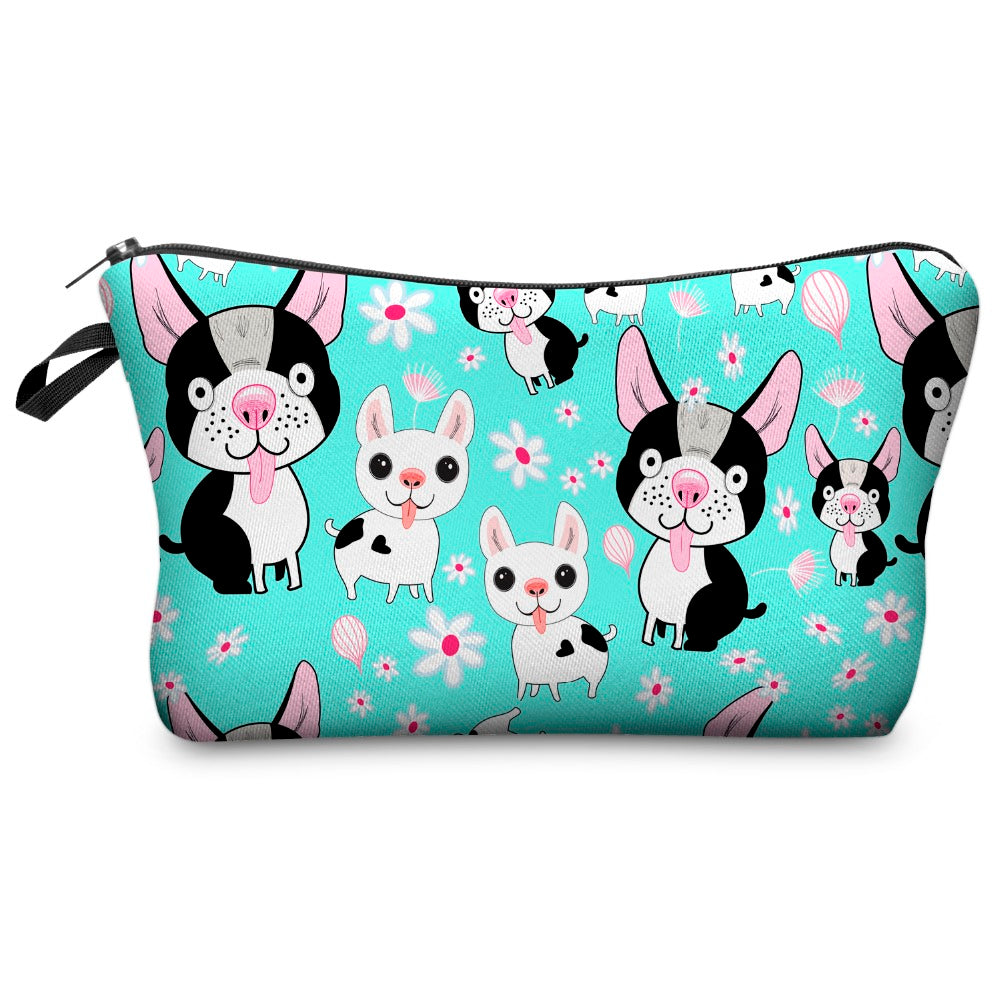 Puppy Love Zip Pouch - Allthingsfrenchie LLC