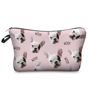 Raise The Woof Zip Pouch - Allthingsfrenchie LLC