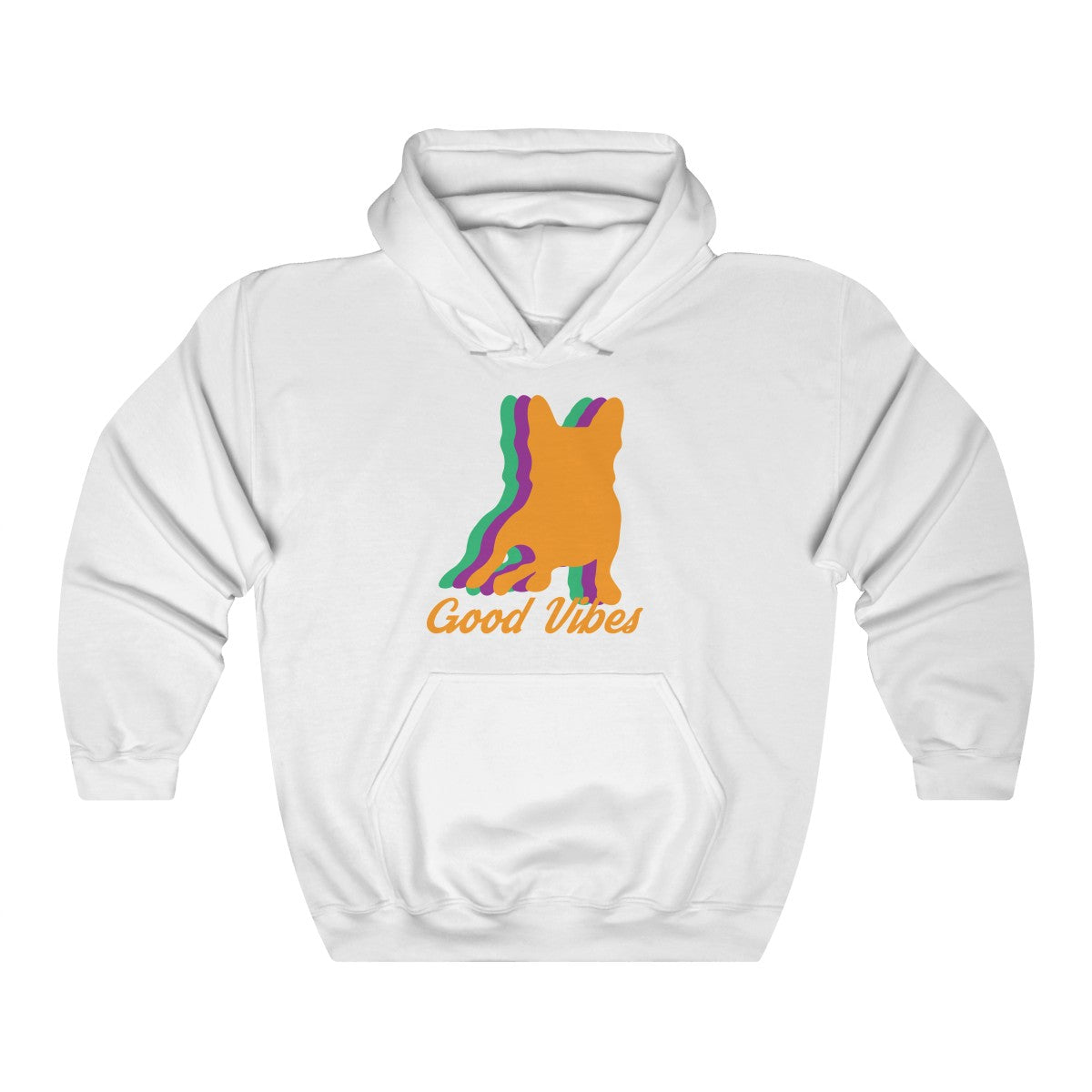 Good Vibes Sweatshirt - Allthingsfrenchie LLC