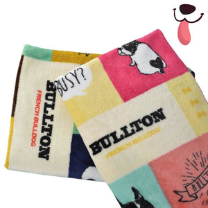Bullton Pet Fleece Flanket (2 colors) - Allthingsfrenchie LLC