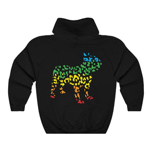 Rainbow Frenchie Hoodie - Allthingsfrenchie LLC