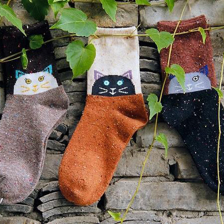Kitten Around Socks - Allthingsfrenchie LLC