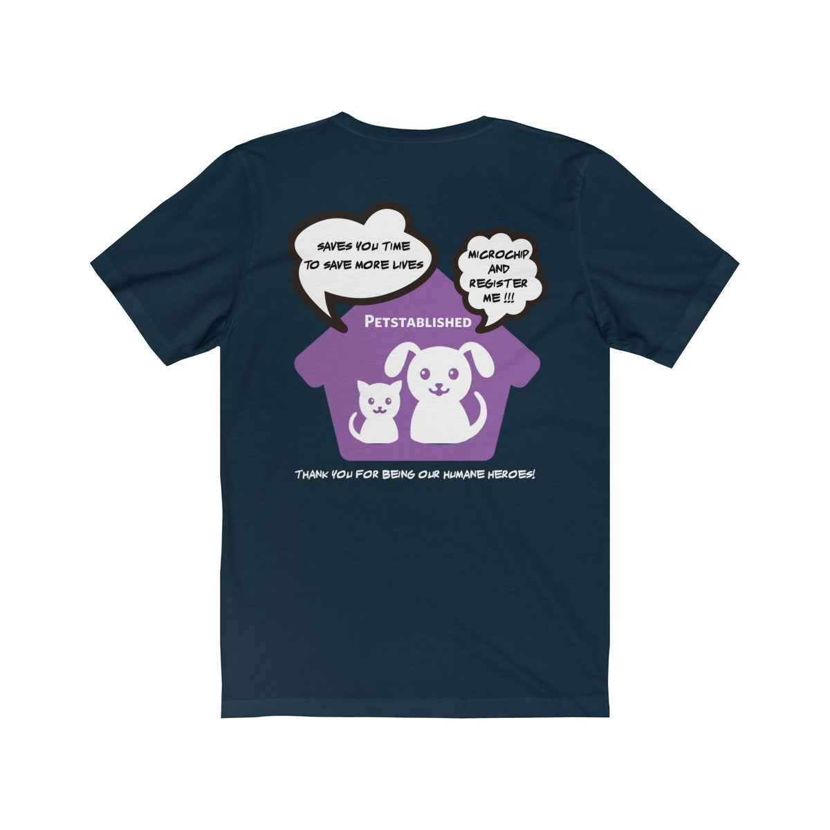 Expo Tee Big Paw - Melissa (L) - Allthingsfrenchie LLC