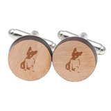 Winston the Frenchie Cufflinks - Allthingsfrenchie LLC