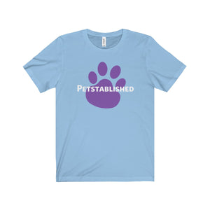 Expo Tee Big Paw (plain back) - Sarah (M) - Allthingsfrenchie LLC