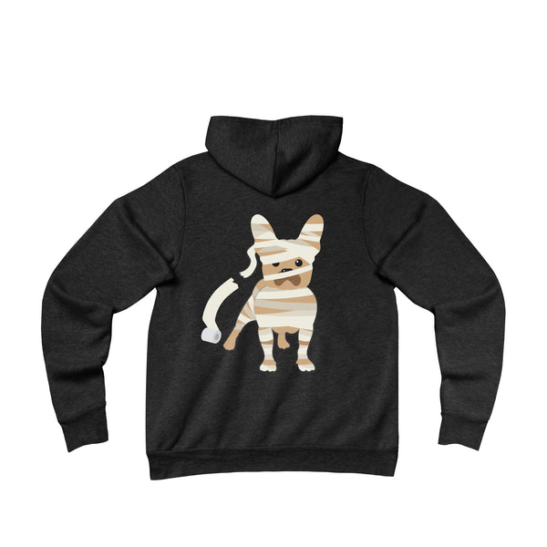 (Don't Tell) Mummy Frenchie Fleece Hoodie - Allthingsfrenchie LLC