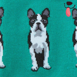 Dog Daze Knee High Socks - Allthingsfrenchie LLC