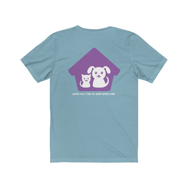 Expo Tee Paws Up - Sarah (M) - Allthingsfrenchie LLC