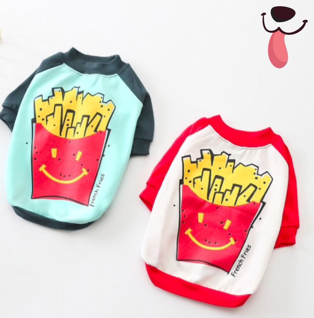 Frenchie Fries Tee - Allthingsfrenchie LLC