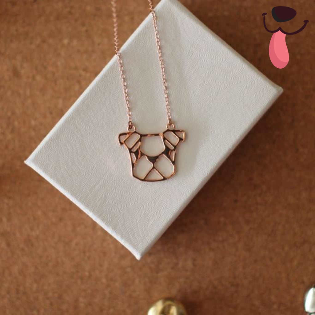 LOLA Origami Necklace - Allthingsfrenchie LLC