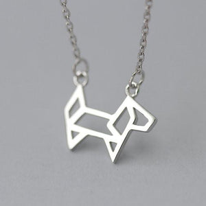 GRACIE Origami Necklace - Allthingsfrenchie LLC