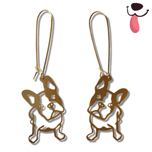 Paw-fect Frenchie Earrings - Allthingsfrenchie LLC