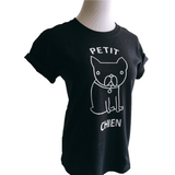 Petit Chien Tee - Allthingsfrenchie LLC