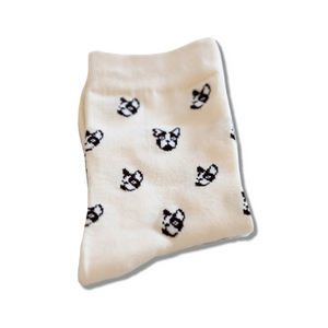 French Bulldog Polka Socks - Allthingsfrenchie LLC