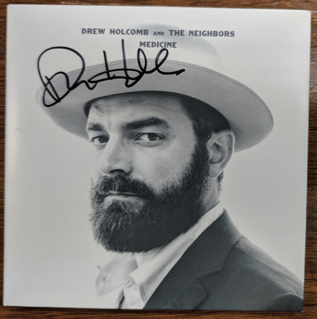 Drew Holcomb and the Neighbors - Medicine: Signed CD