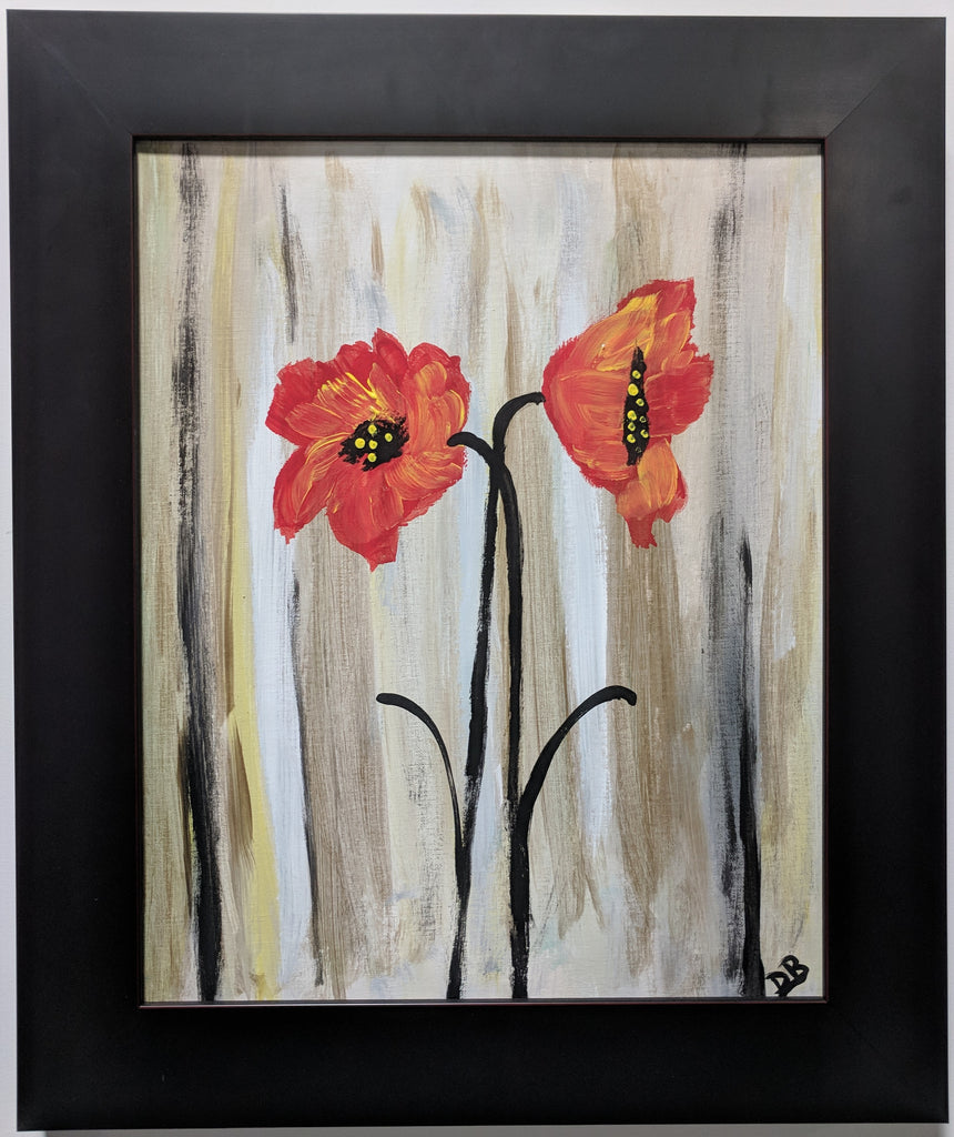 Simple Poppies:  Dana Blalack