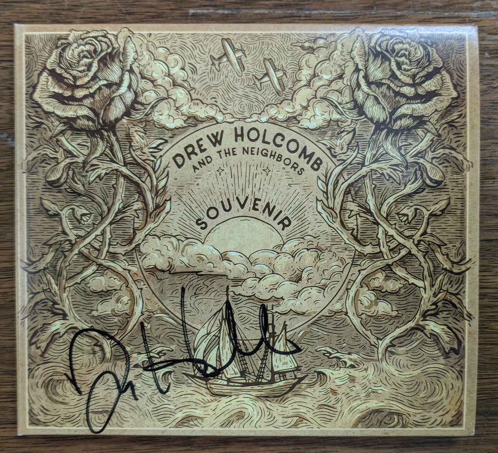 Drew Holcomb and the Neighbors - Souvenir: Signed CD