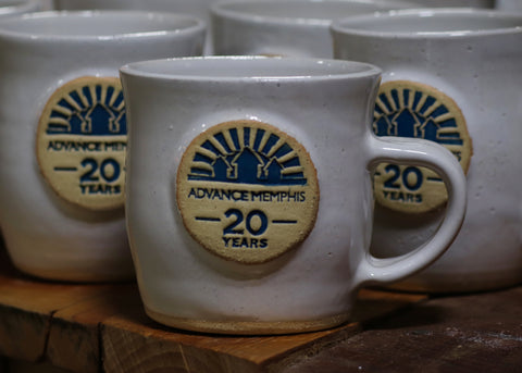 20th Anniversary and Art for Jobs mug