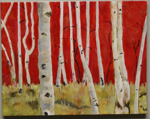 Aspens in Fall: Mary Aronov