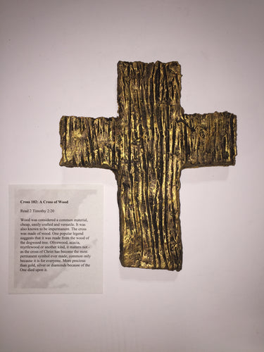 Cross 102: A Cross of Wood