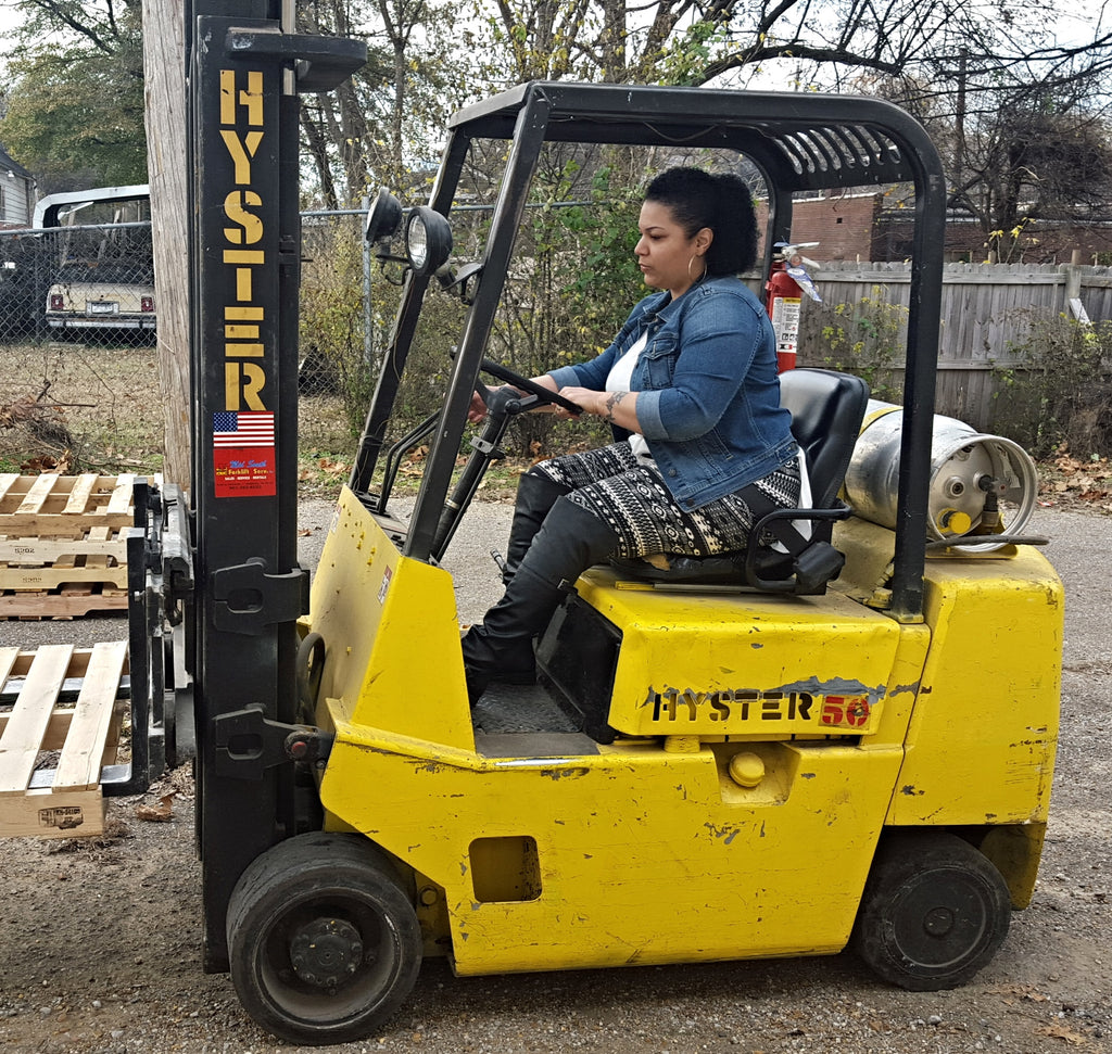 Purchase 1 hour of Forklift Certification Training.