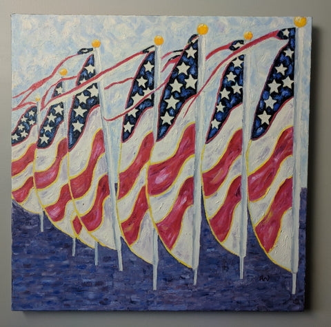 Flag Day:  Art	Wilson
