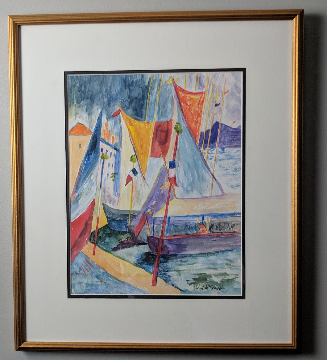 French Boats: Cheryl McCormack
