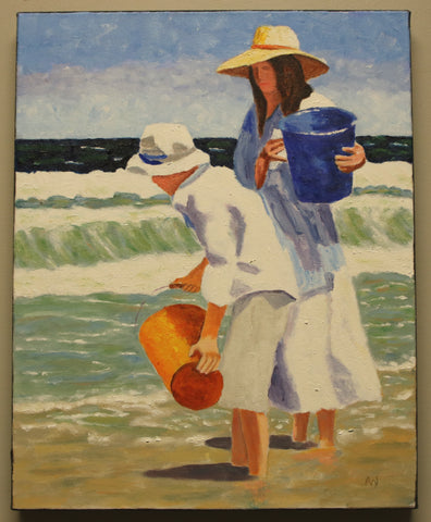 Day at the Beach: Art Wilson