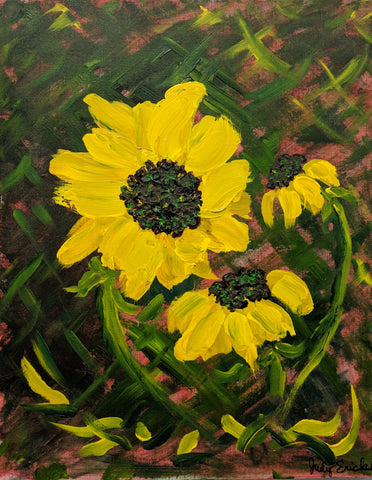 Dancing Sunflowers: Judy Erickson
