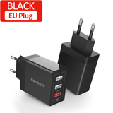 Multi-Plug Charger with Quick Charge Technology