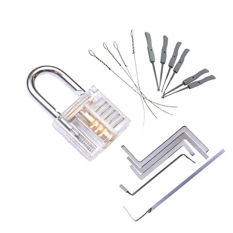 Transparent Practice Padlock For Wannabe Lockpickers