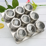 Magnetic Spice Jars